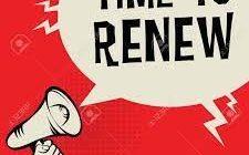 Tiempo de renovación